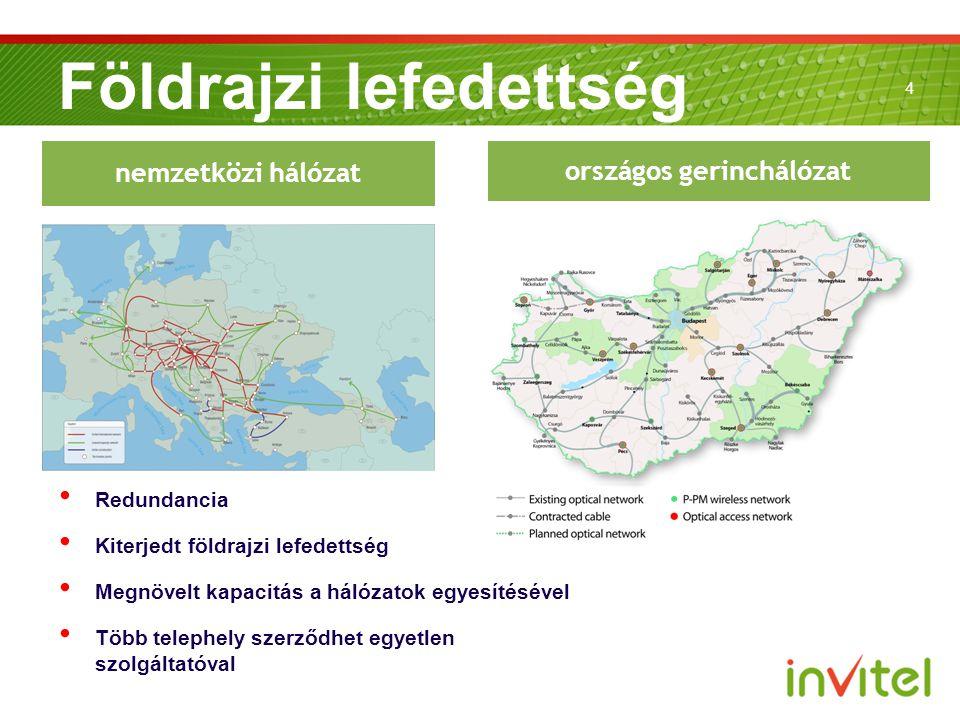 Földrajzi lefedettség