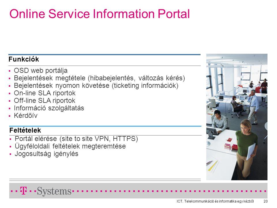 Online Service Information Portal