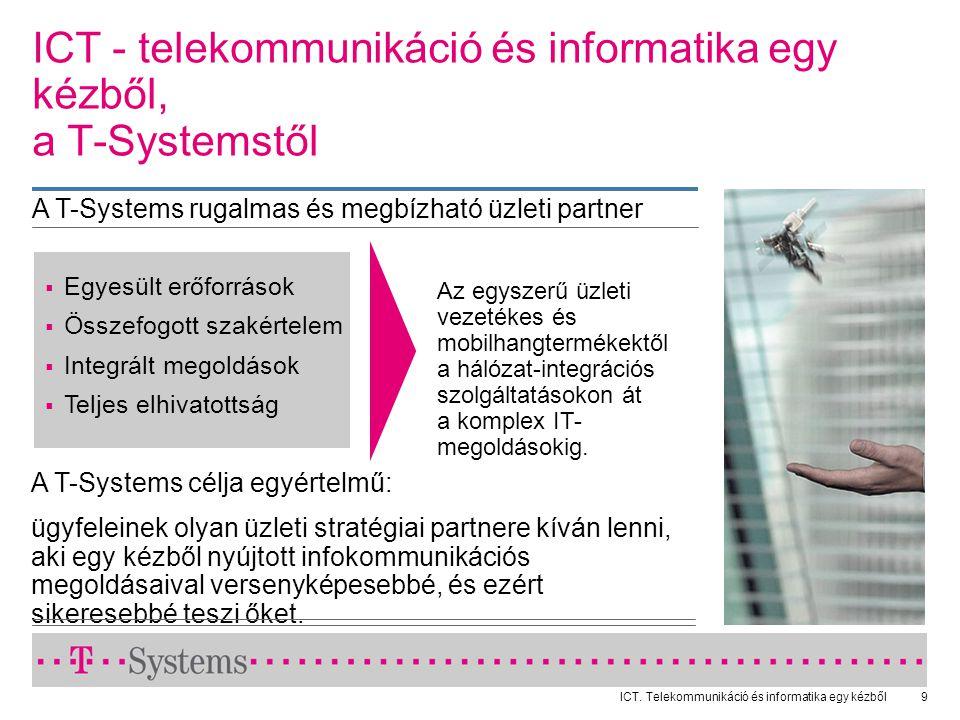ICT - telekommunikáció és informatika egy kézből, a T-Systemstől