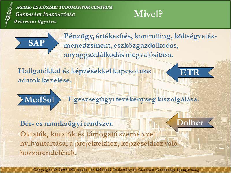 Mivel SAP ETR MedSol Dolber
