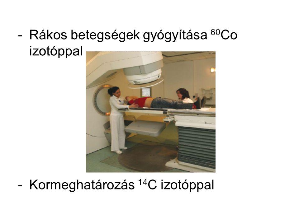Rákos betegségek gyógyítása 60Co izotóppal