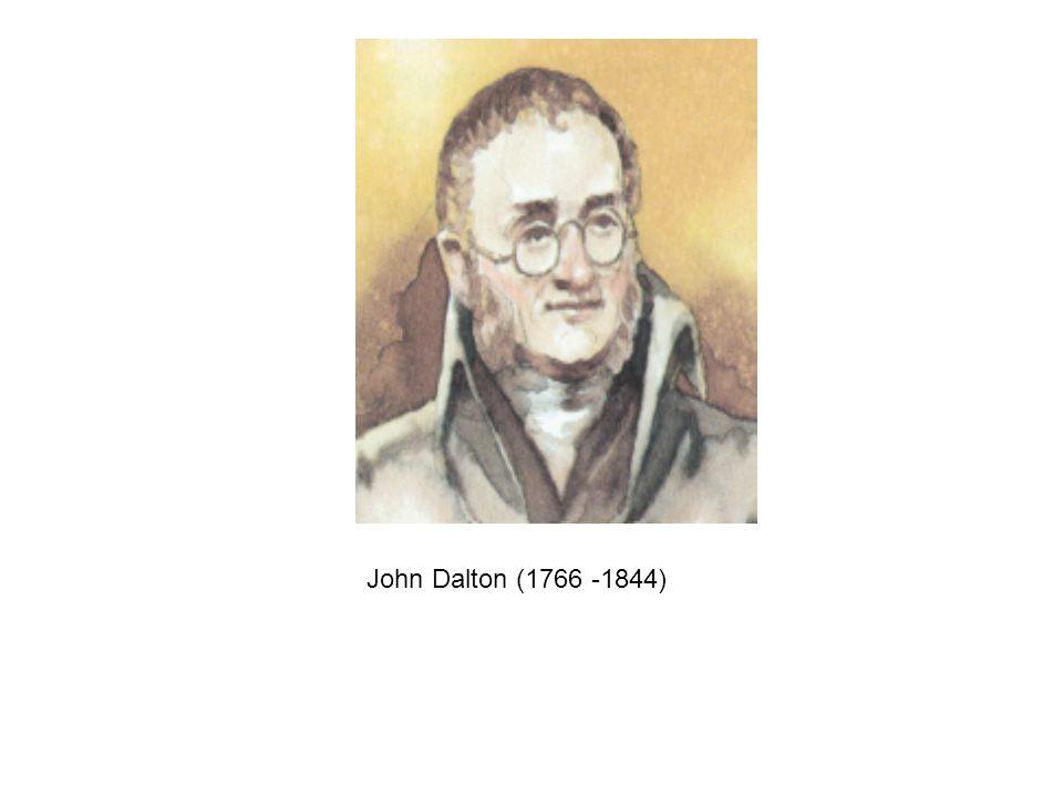 John Dalton (1766 -1844)