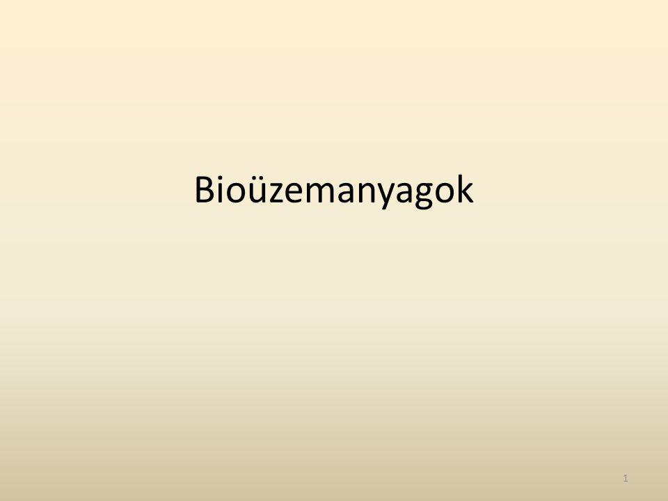 Bioüzemanyagok