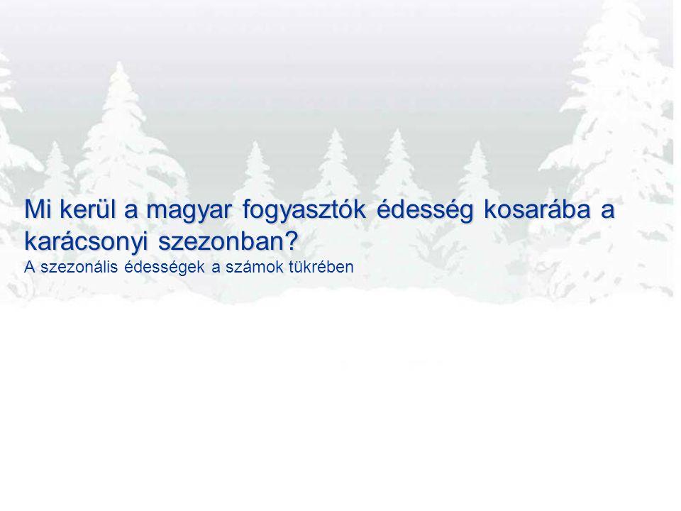 Mi kerül a magyar fogyasztók édesség kosarába a karácsonyi szezonban