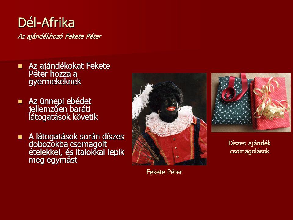 Dél-Afrika Az ajándékhozó Fekete Péter