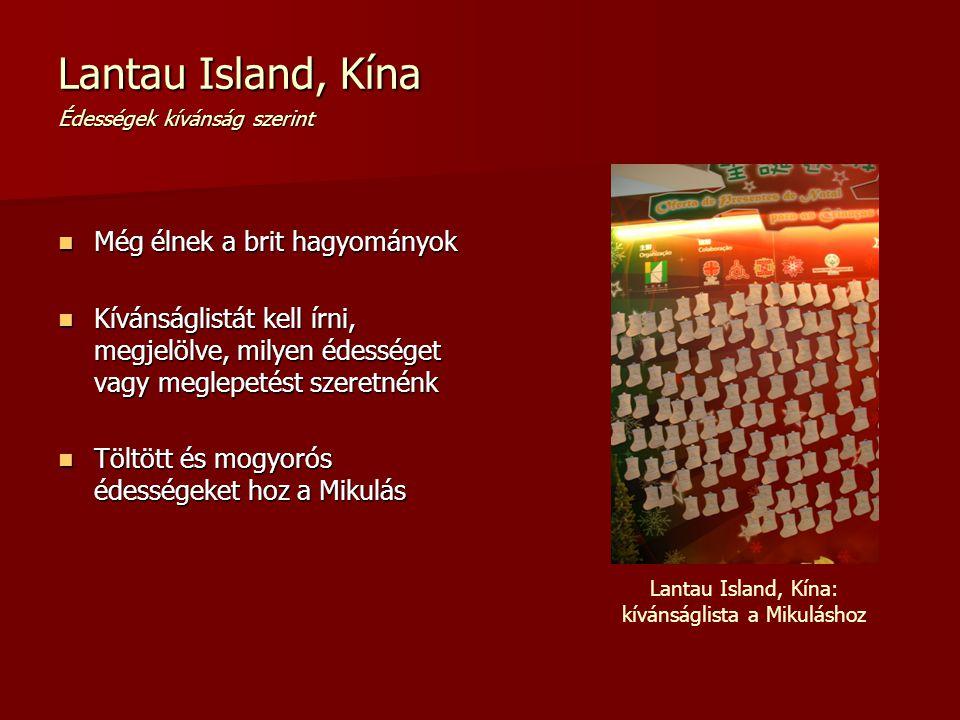 Lantau Island, Kína Édességek kívánság szerint