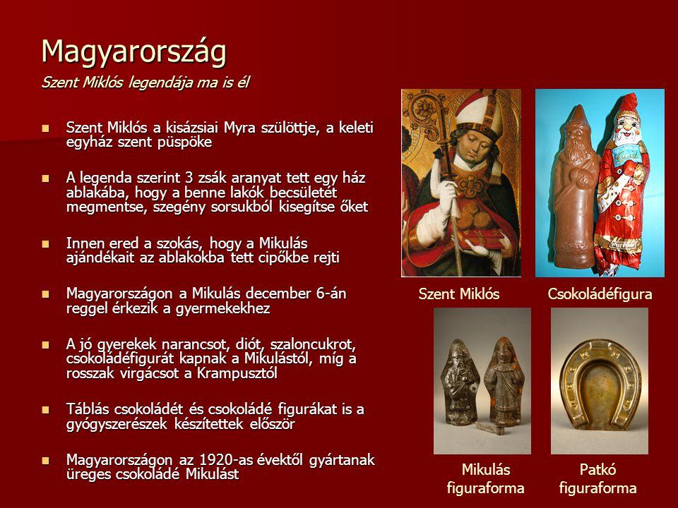 Magyarország Szent Miklós legendája ma is él