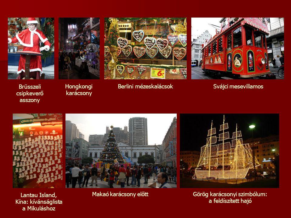 Brüsszeli csipkeverő asszony Hongkongi karácsony Berlini mézeskalácsok