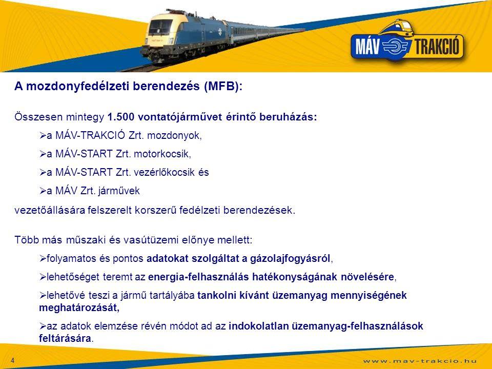 A mozdonyfedélzeti berendezés (MFB):