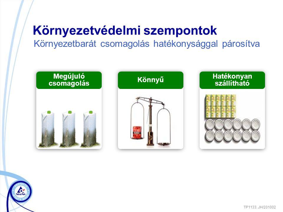 Környezetvédelmi szempontok