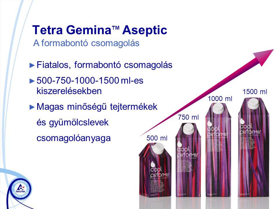 Tetra GeminaTM Aseptic