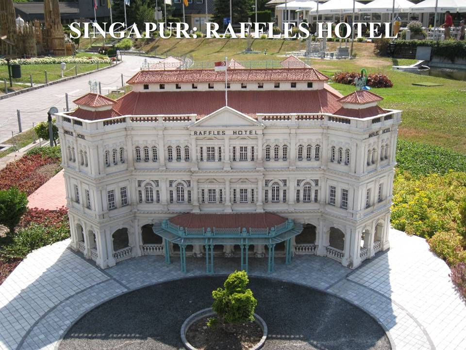 SINGAPUR: RAFFLES HOTEL