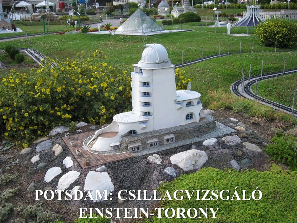 POTSDAM: CSILLAGVIZSGÁLÓ EINSTEIN-TORONY