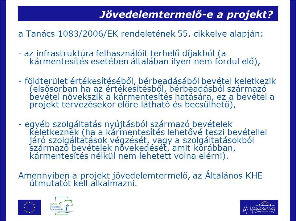 Jövedelemtermelő-e a projekt