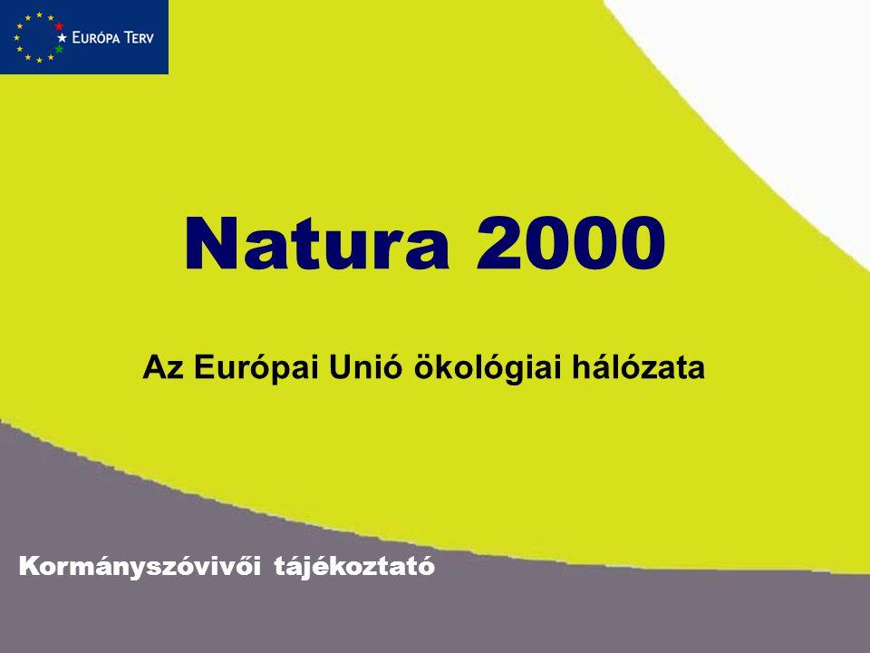 Az Európai Unió ökológiai hálózata