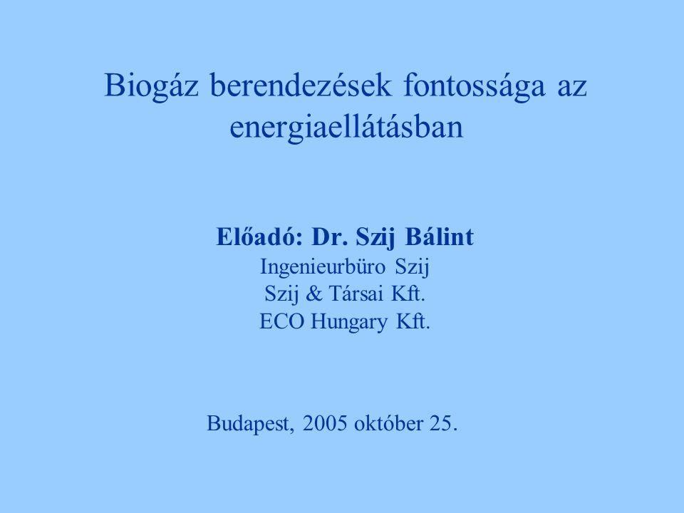 Biogáz berendezések fontossága az energiaellátásban