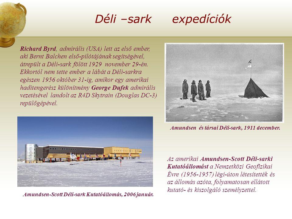 Déli –sark expedíciók