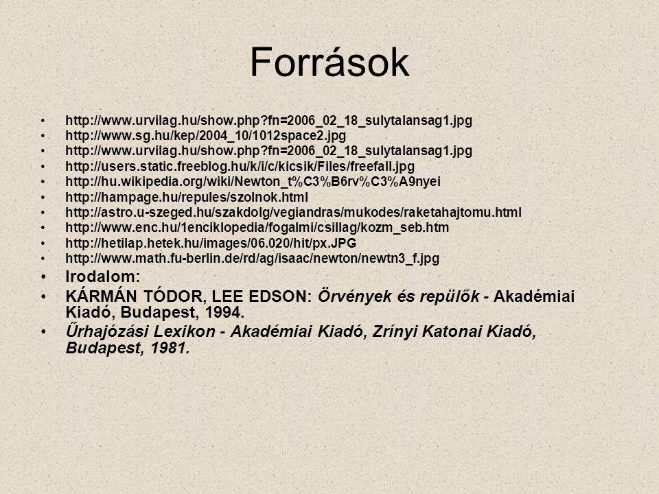 Források http://www.urvilag.hu/show.php fn=2006_02_18_sulytalansag1.jpg. http://www.sg.hu/kep/2004_10/1012space2.jpg.