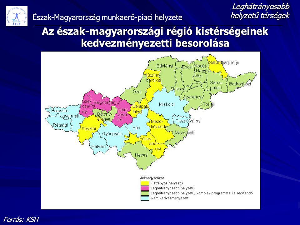 Leghátrányosabb helyzetű térségek