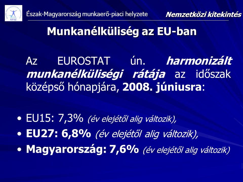 Munkanélküliség az EU-ban