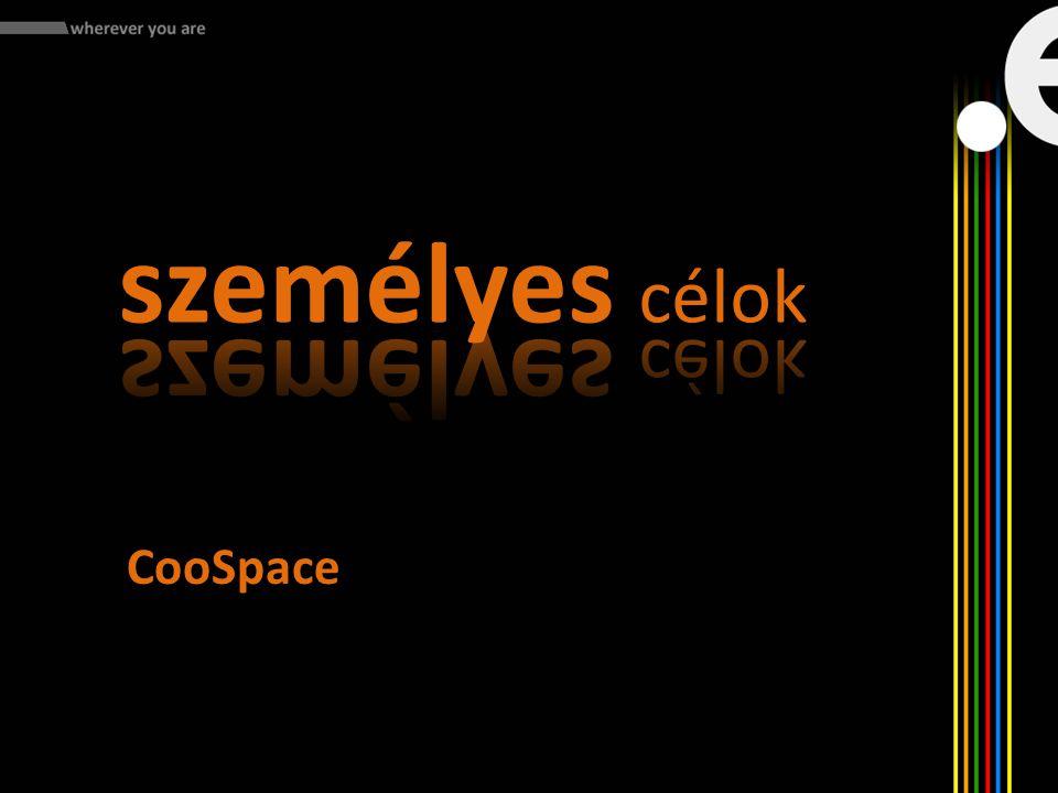 személyes célok CooSpace