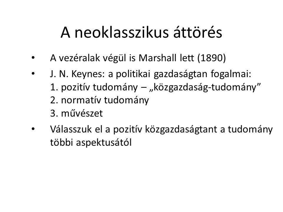 A neoklasszikus áttörés