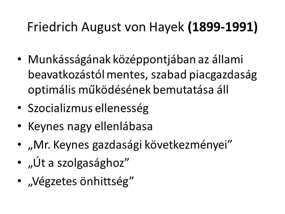 Friedrich August von Hayek (1899-1991)