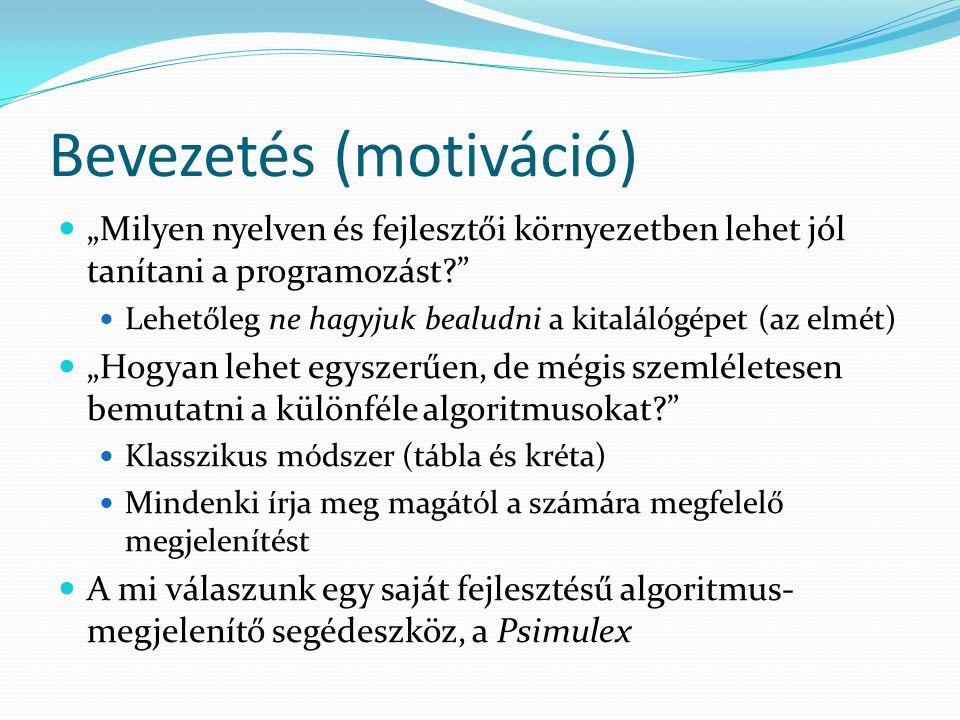 Bevezetés (motiváció)