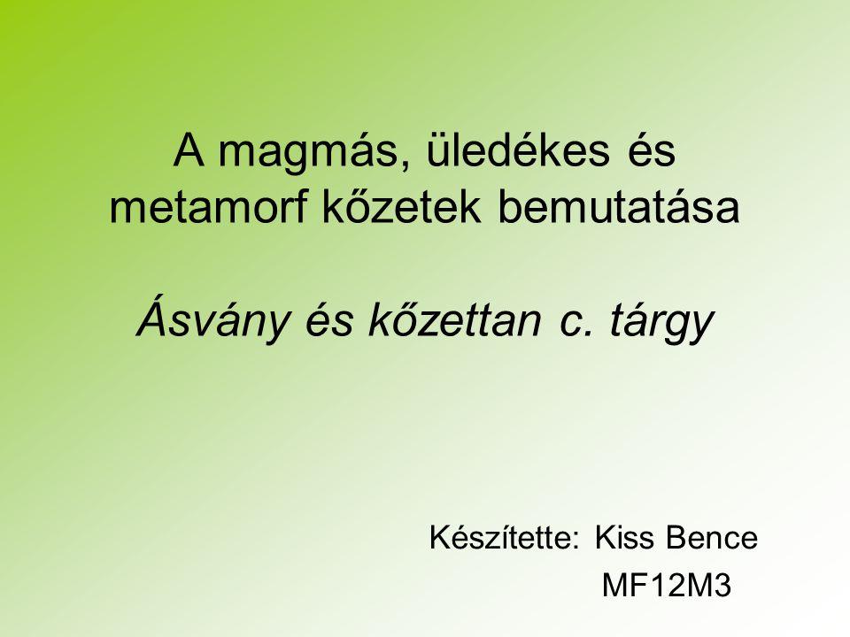 Készítette: Kiss Bence MF12M3