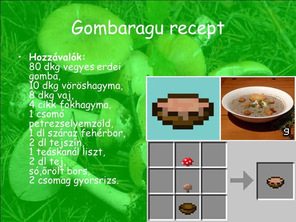 Gombaragu recept