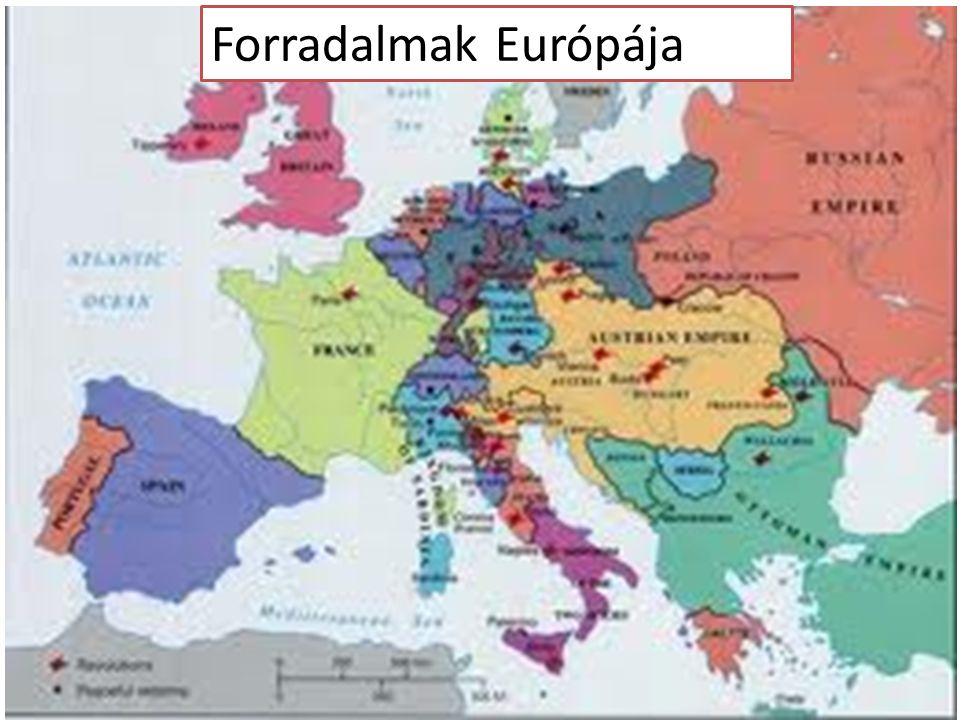 Forradalmak Európája