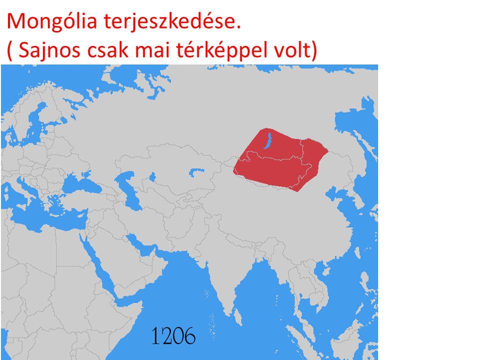Mongólia terjeszkedése.
