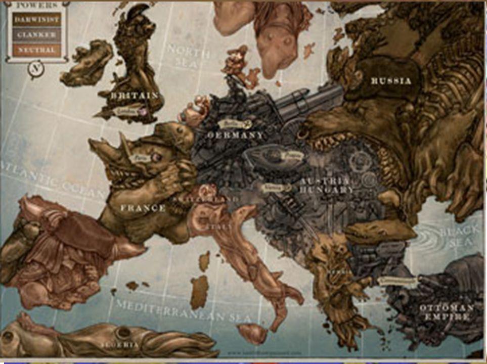 Közeleg a világháború! E felállás később változott.