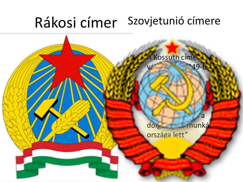 Rákosi címer Szovjetunió címere