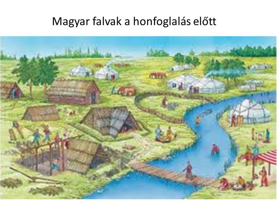 Magyar falvak a honfoglalás előtt