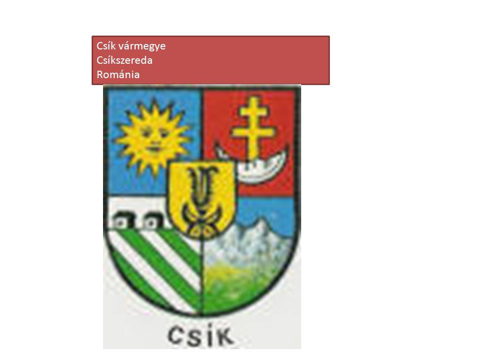 Csík vármegye Csíkszereda Románia