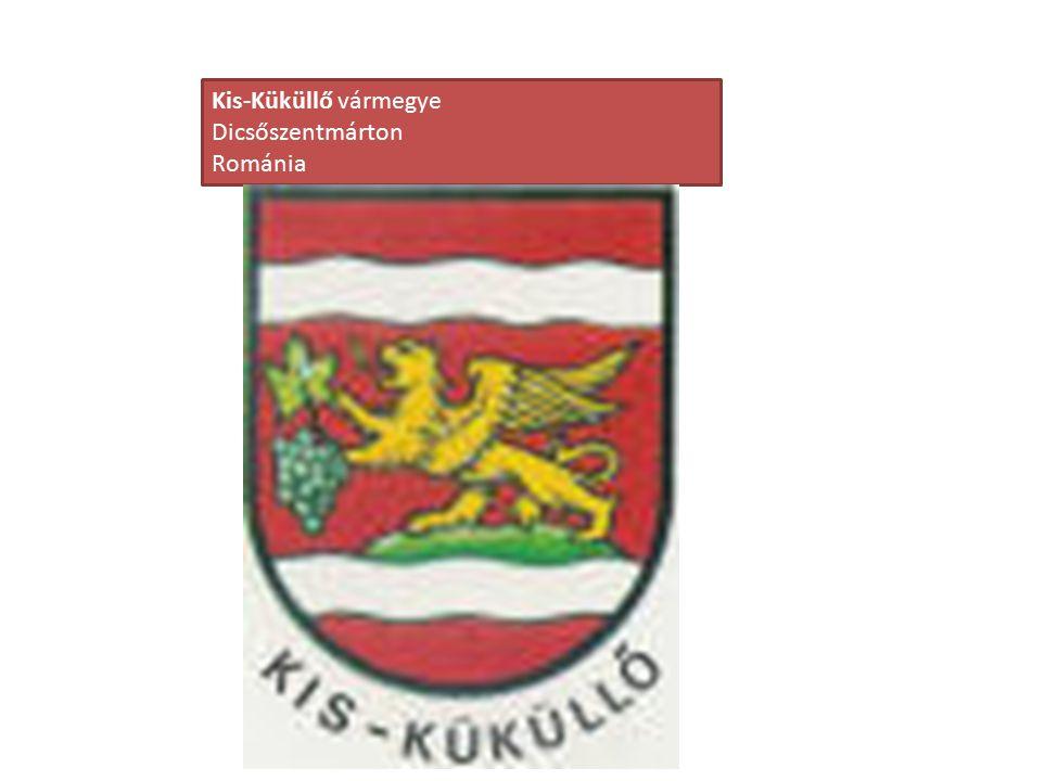 Kis-Küküllő vármegye Dicsőszentmárton Románia