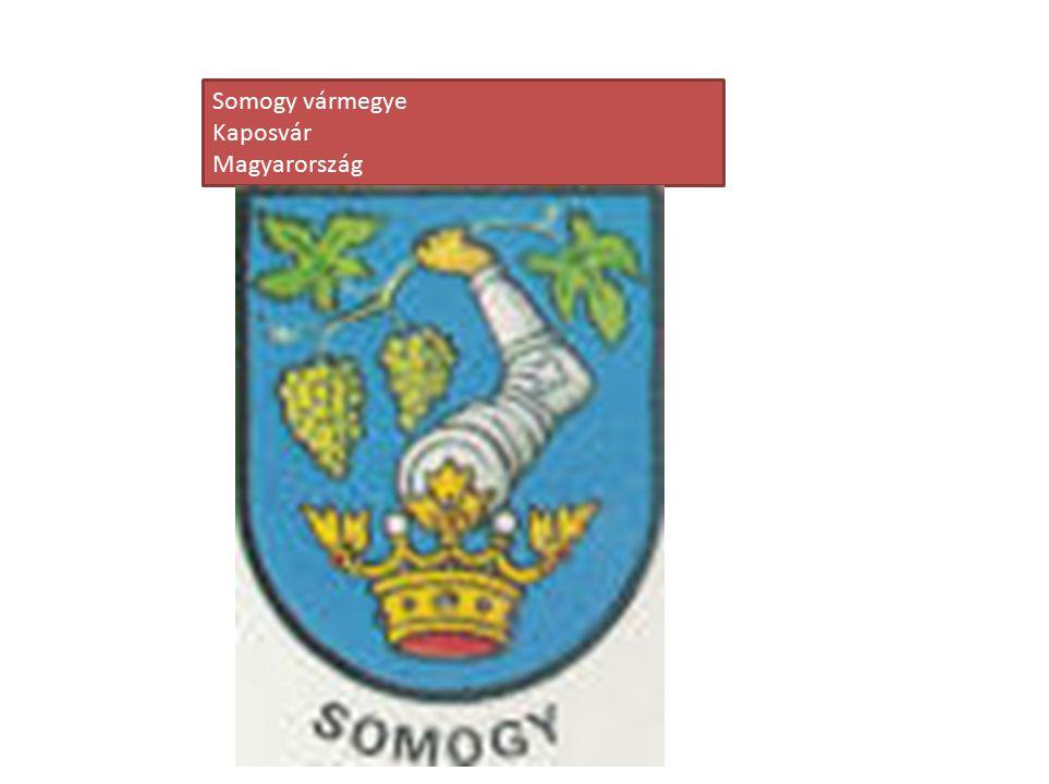Somogy vármegye Kaposvár Magyarország