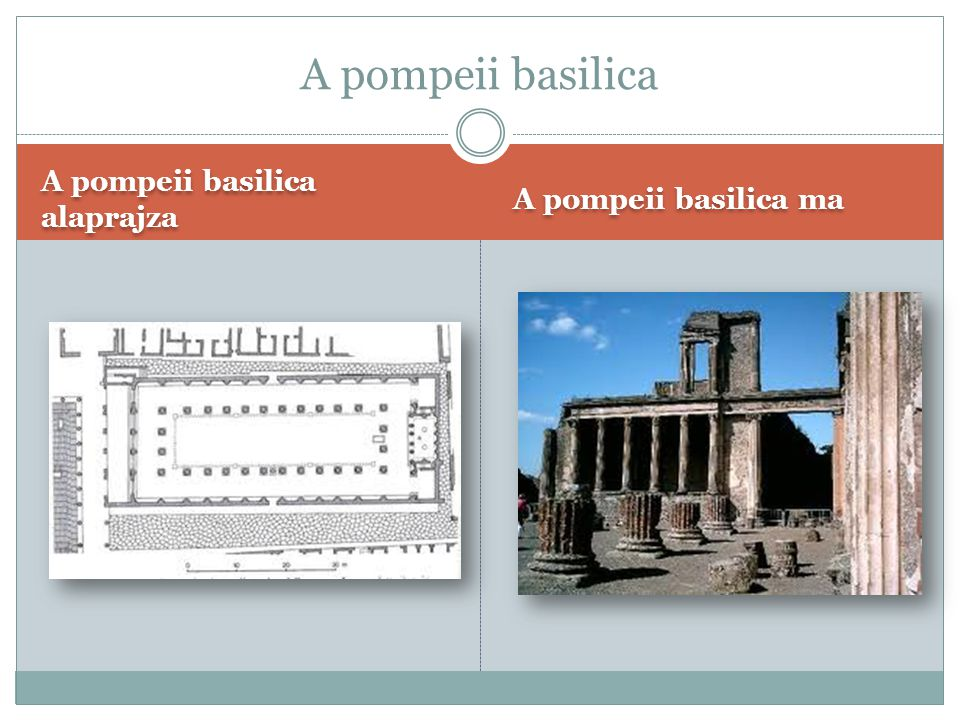 A pompeii basilica A pompeii basilica alaprajza A pompeii basilica ma