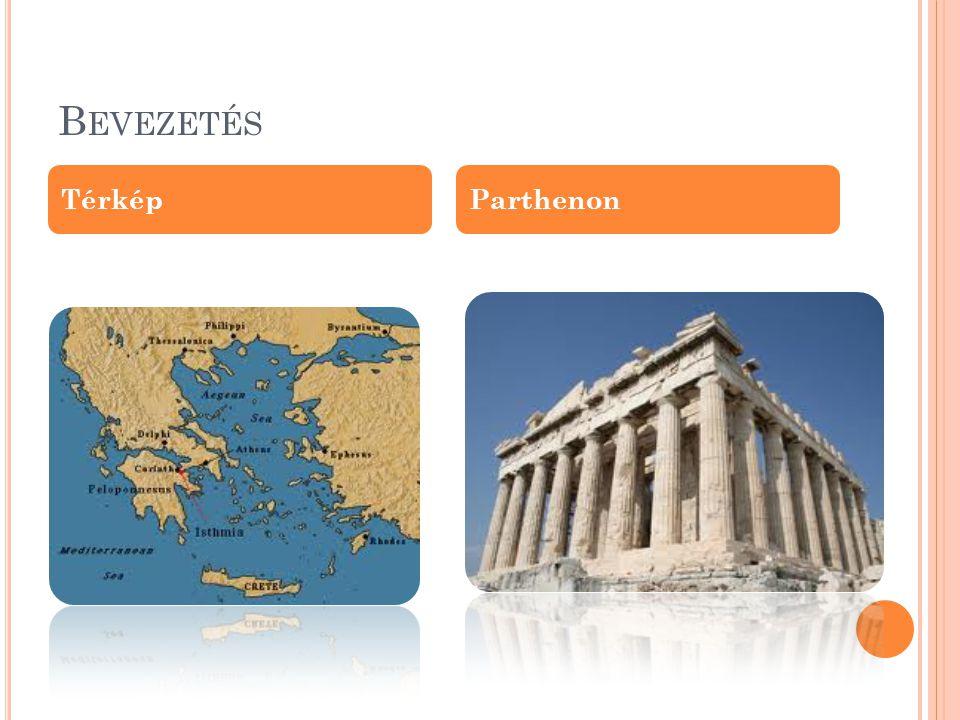 Bevezetés Térkép Parthenon