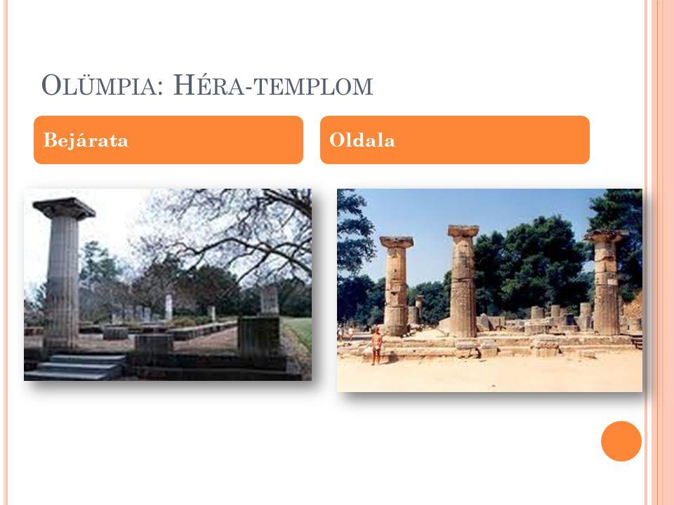 Olümpia: Héra-templom