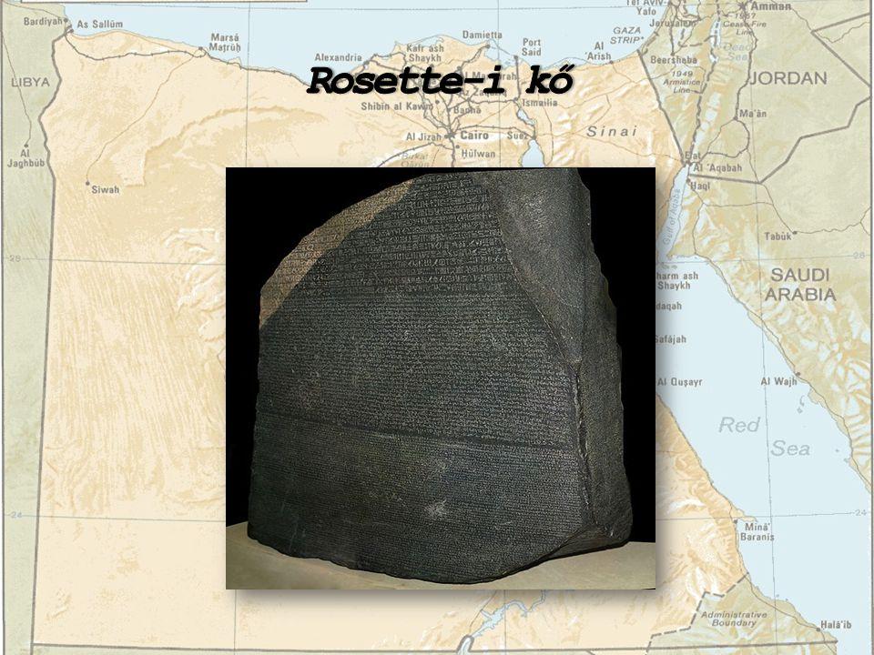 Rosette-i kő