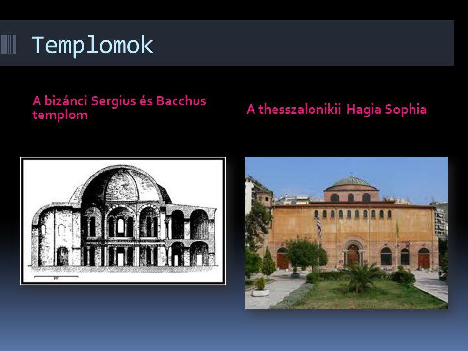 Templomok A bizánci Sergius és Bacchus templom