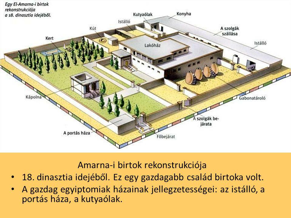 Amarna-i birtok rekonstrukciója
