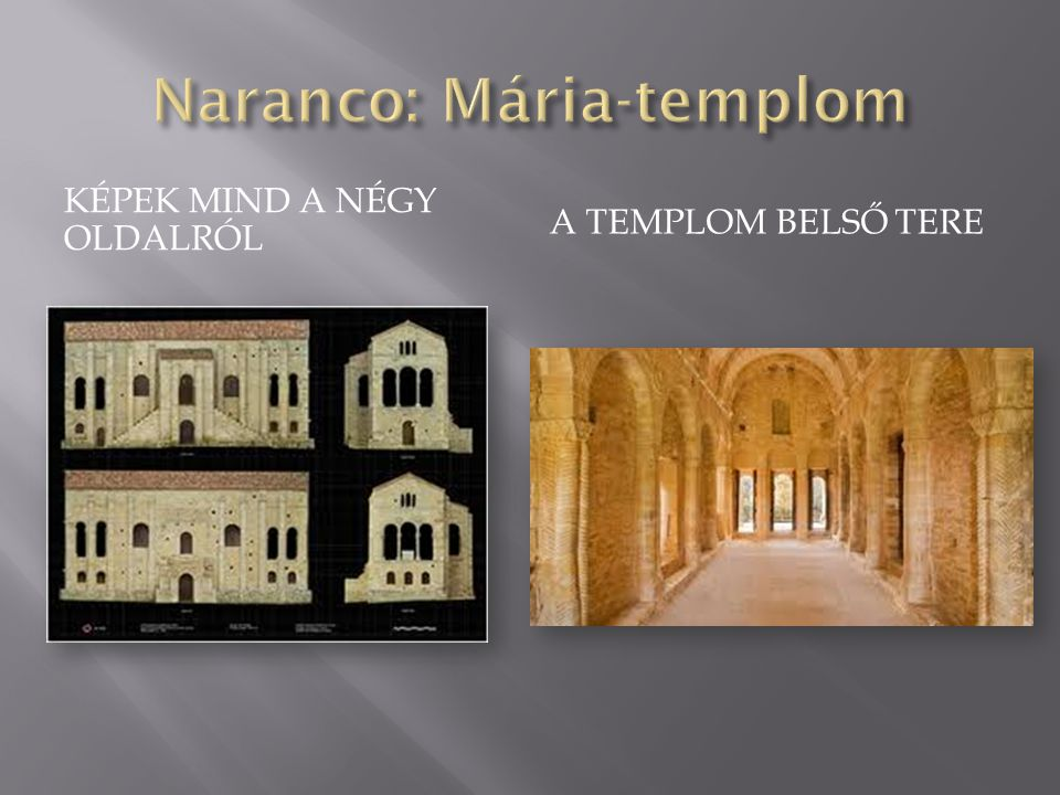Naranco: Mária-templom