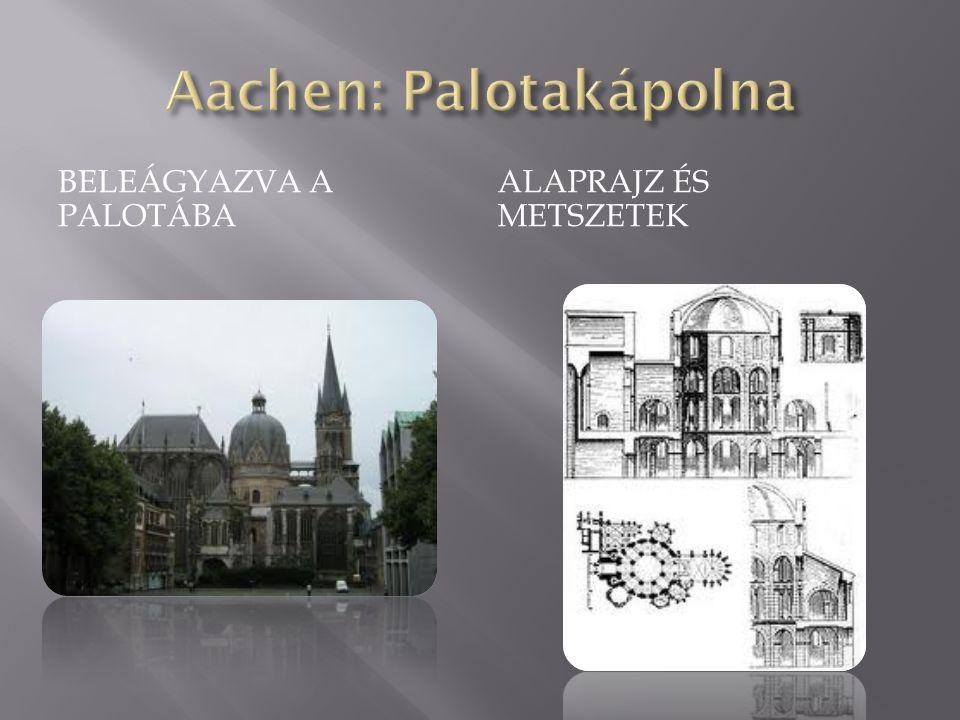 Aachen: Palotakápolna