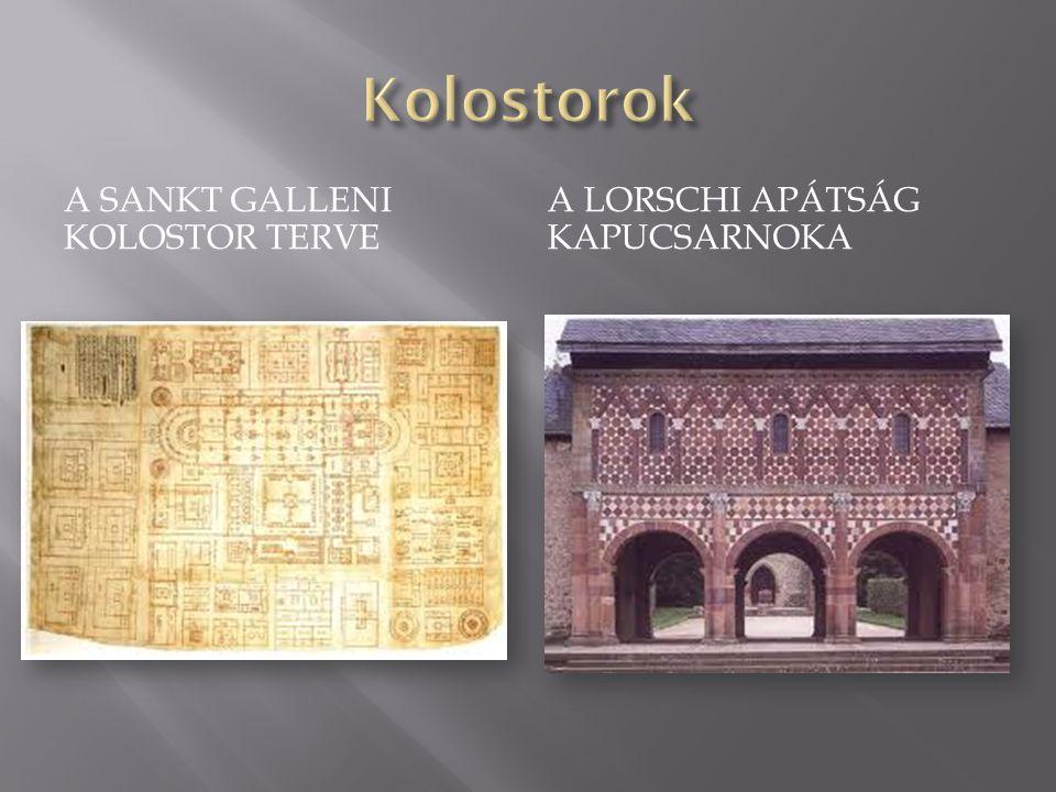 Kolostorok A Sankt Galleni kolostor terve