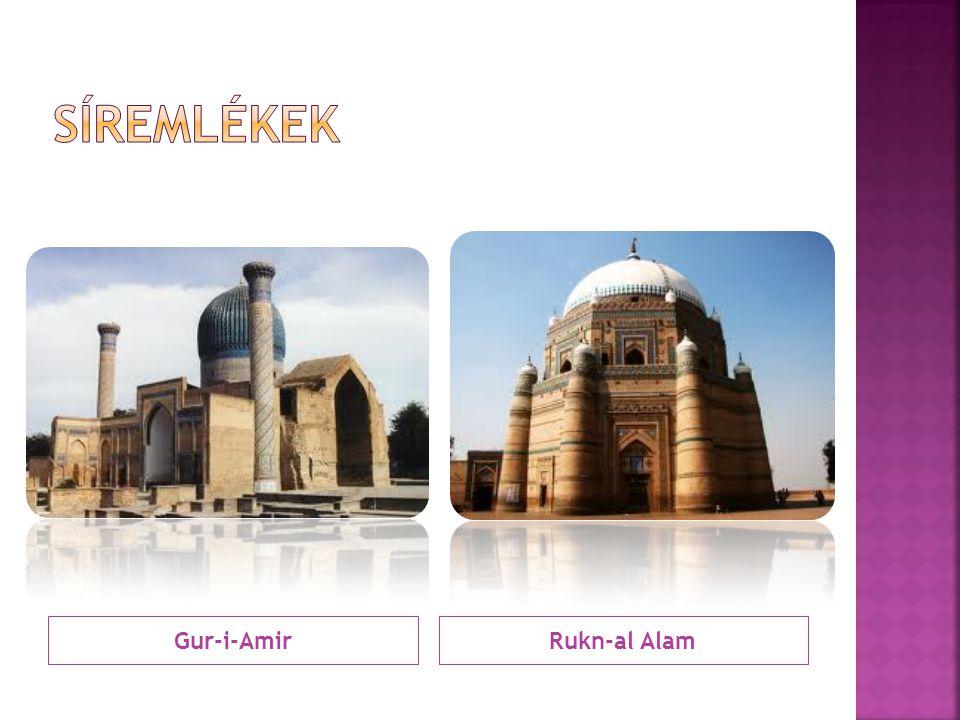 Síremlékek Gur-i-Amir Rukn-al Alam