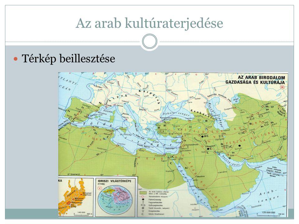 Az arab kultúraterjedése