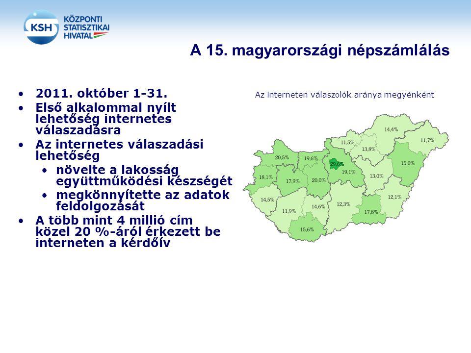 A 15. magyarországi népszámlálás